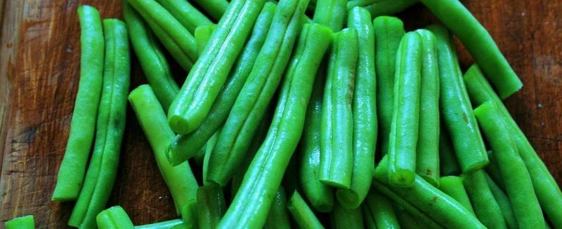 Зелёная стручковая фасоль