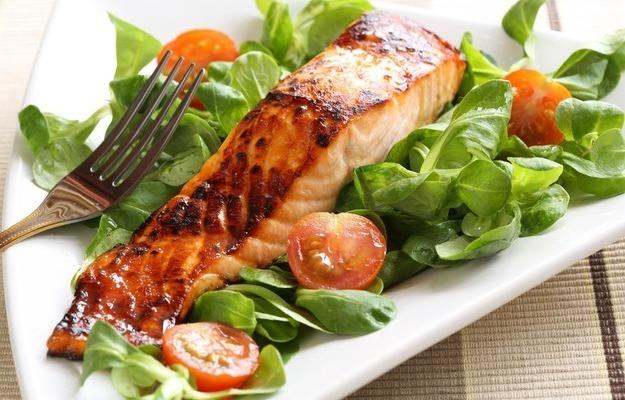 Рыба - идеальный ужин на кетоновой диете
