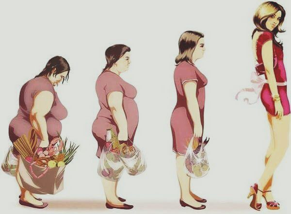 Из толстушки в стройняшку