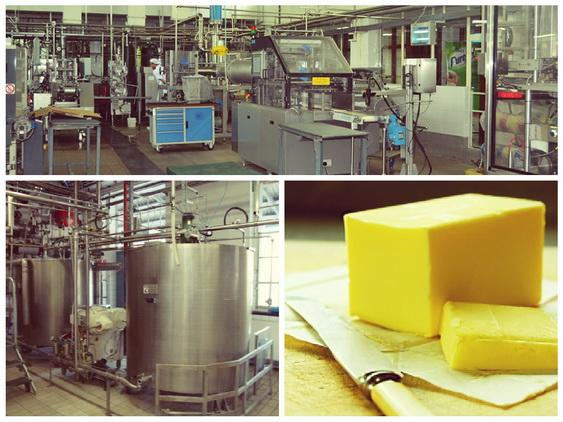 Производство маргарина