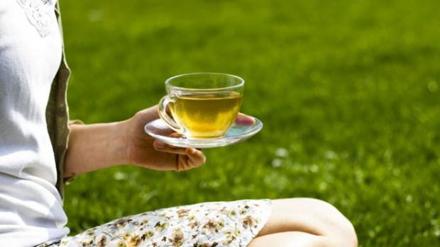 Зелёный чай от болезни Альцгеймера