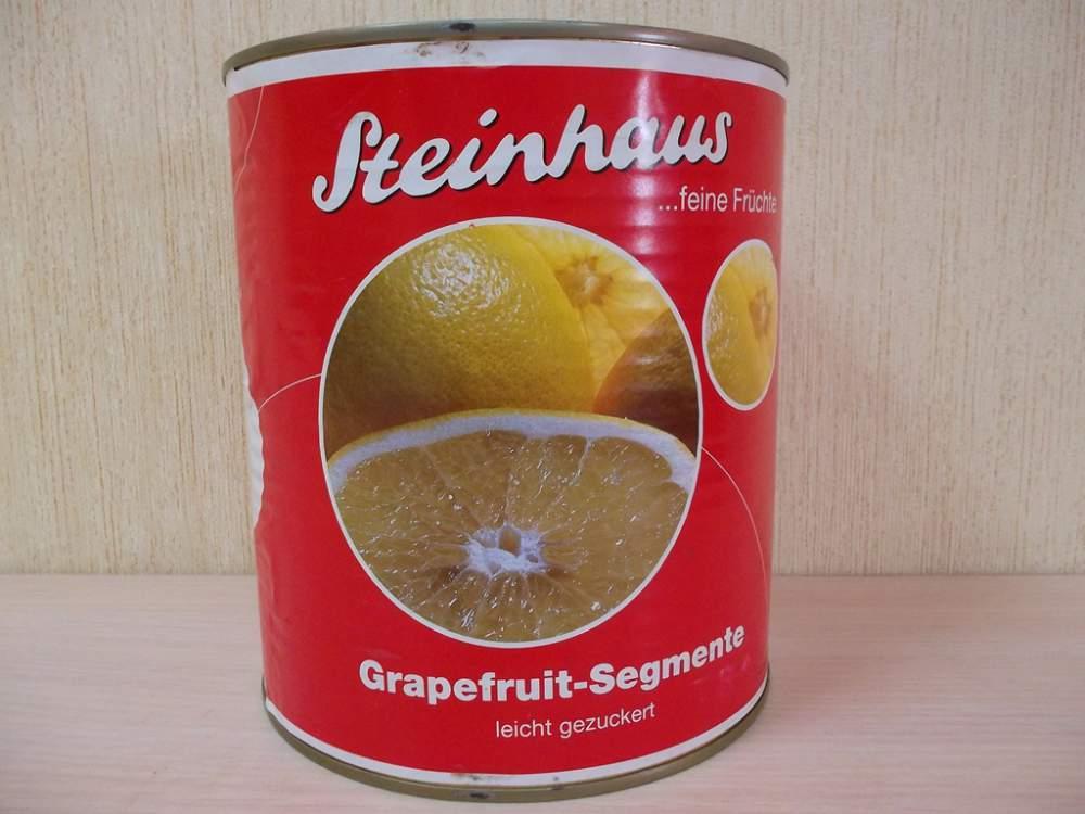Консервированный грейпфрут