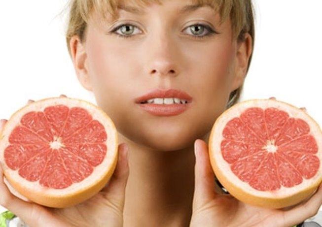Грейпфрут в косметологии