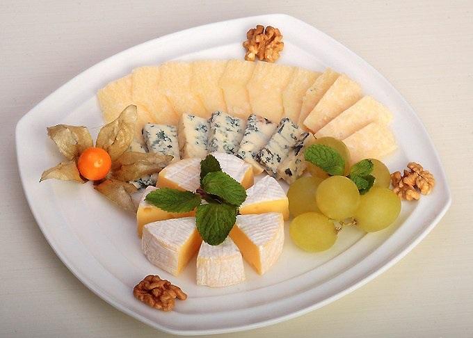 Сочетание мятного вкуса с сыром