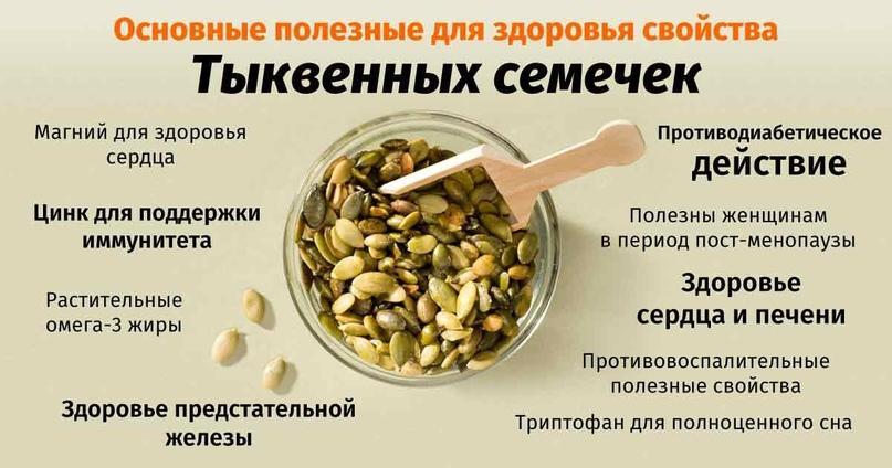 Польза семян тыквы